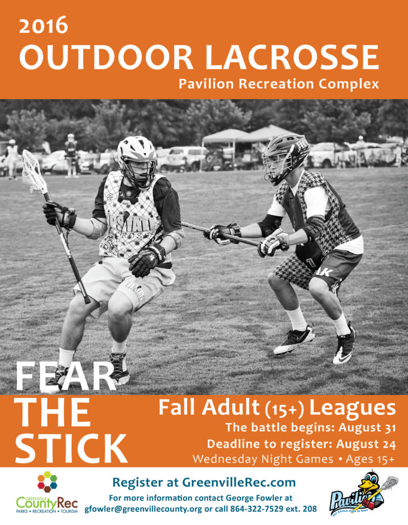 Outdoor Lacrosse League Flyer-01