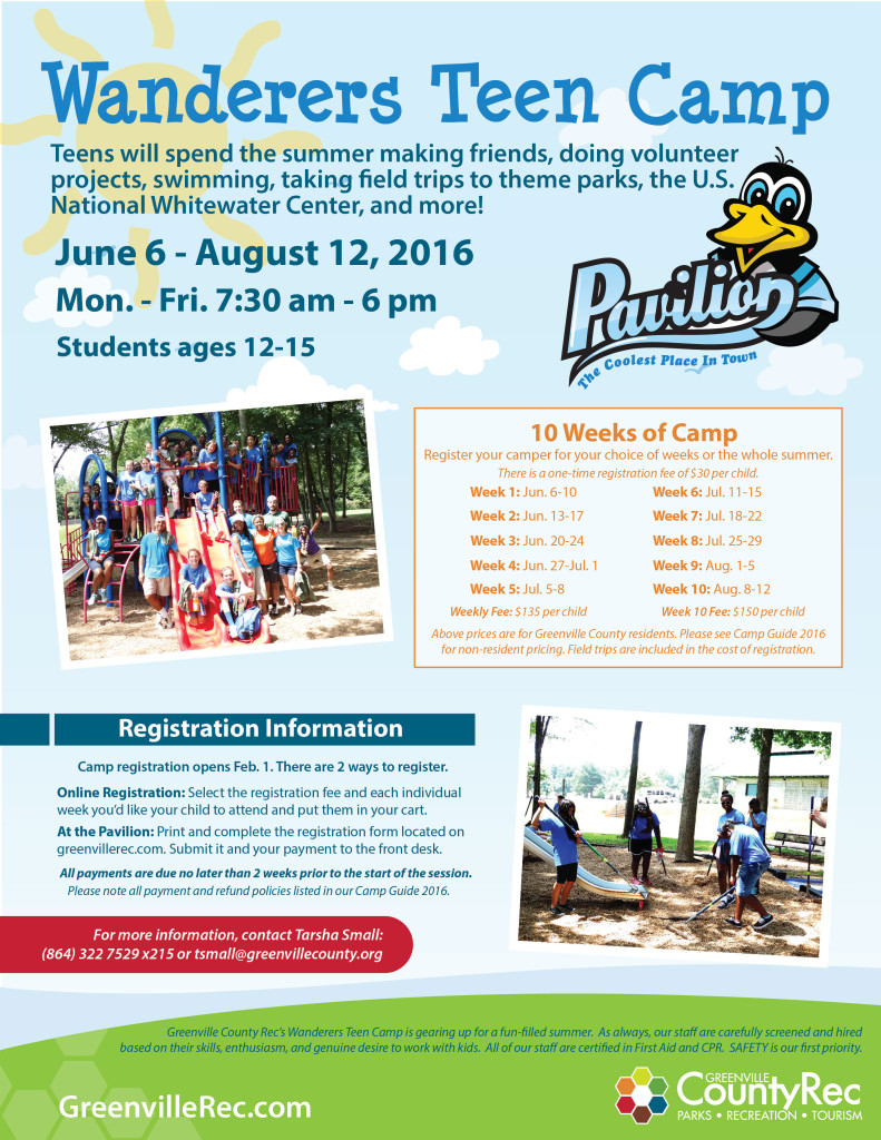Wanderers Teen Camp Flyer-02