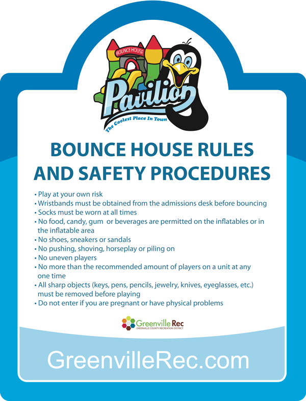 Bounce House Greenville Rec