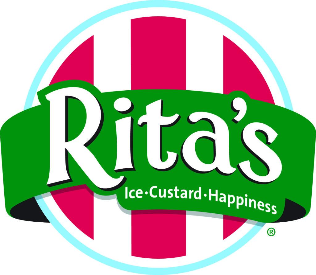 Rita's 4 Color logo with tagline