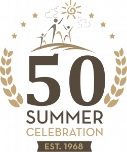 50 Summer Anniversary Logo