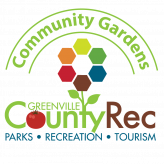 Greenville Recreation community gardens logo