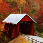 campbells red covered bridge