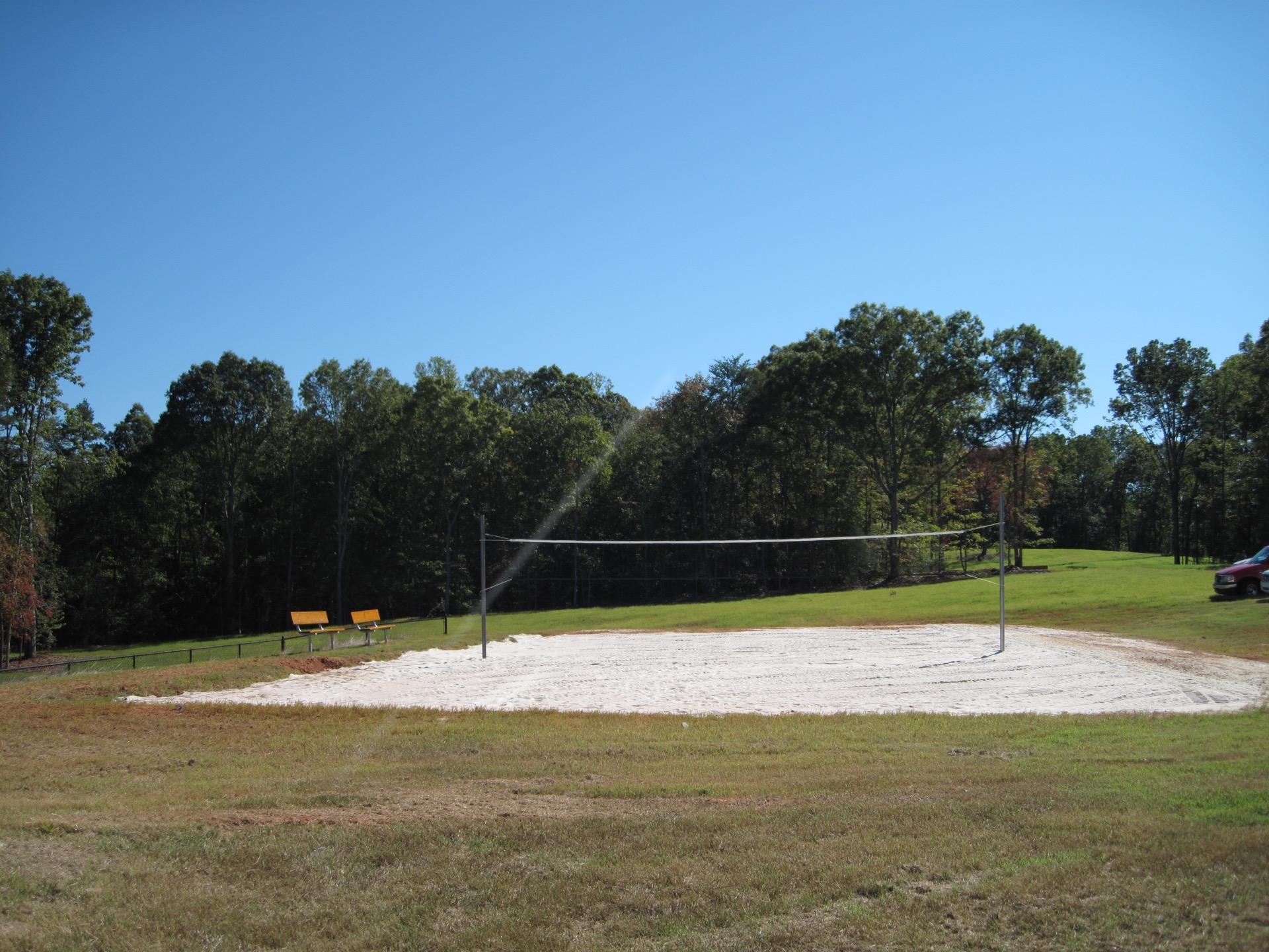 cedar falls sand volleyball court