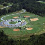 david jackson park aerial view