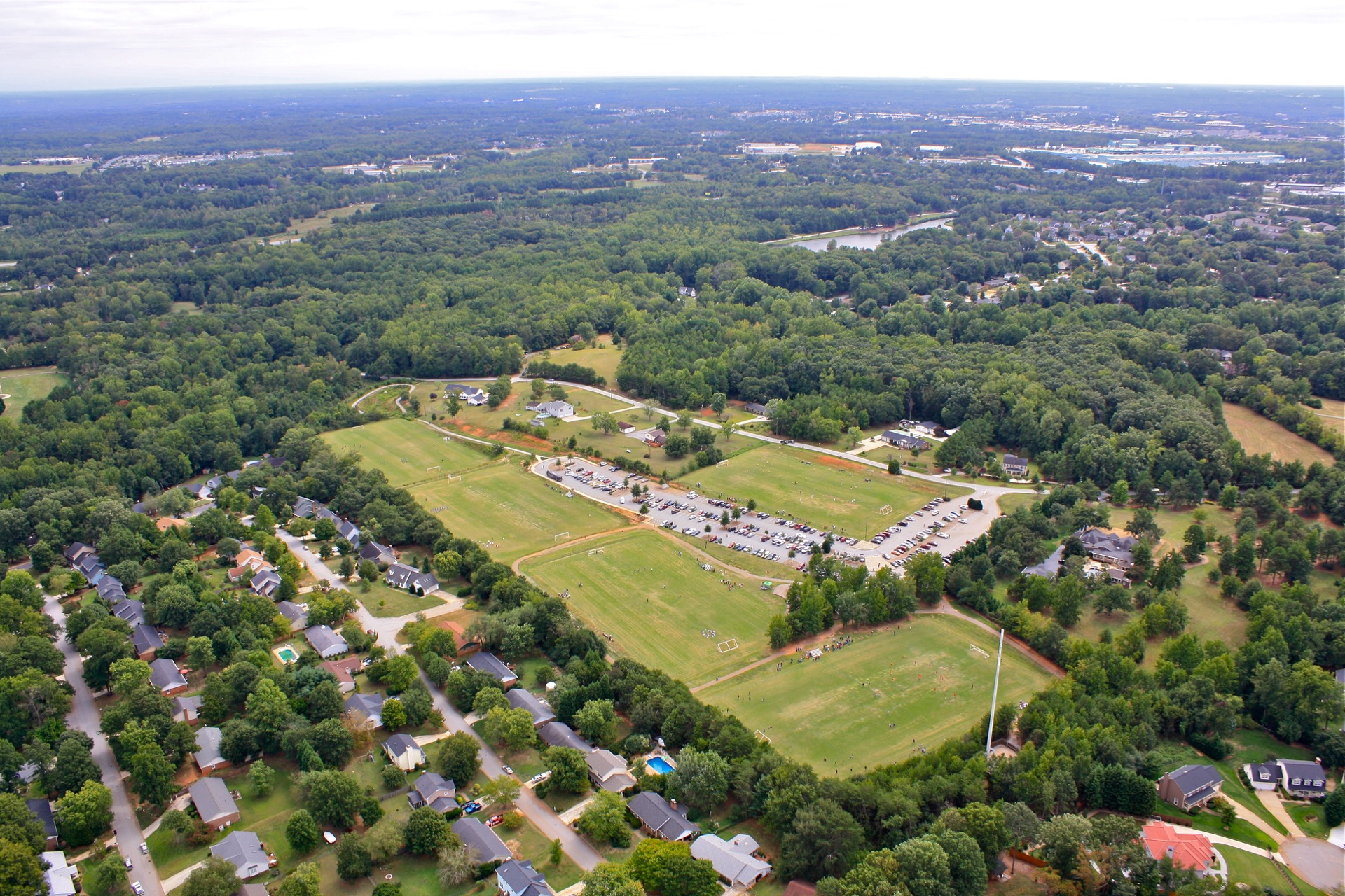 gary L. Pittman park aerial view