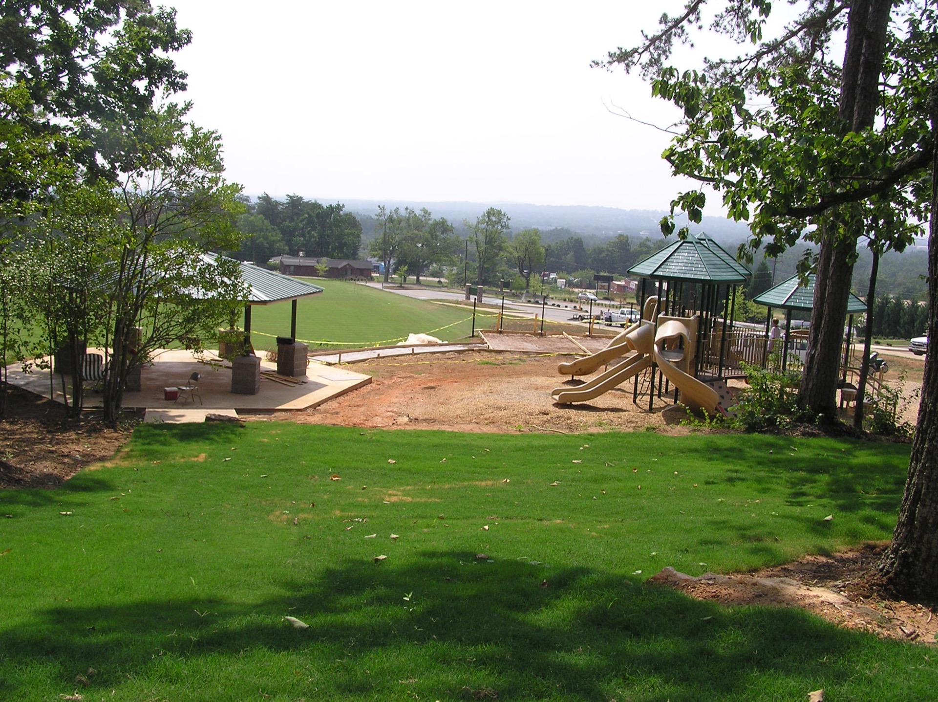 herdklotz park playground and shelter