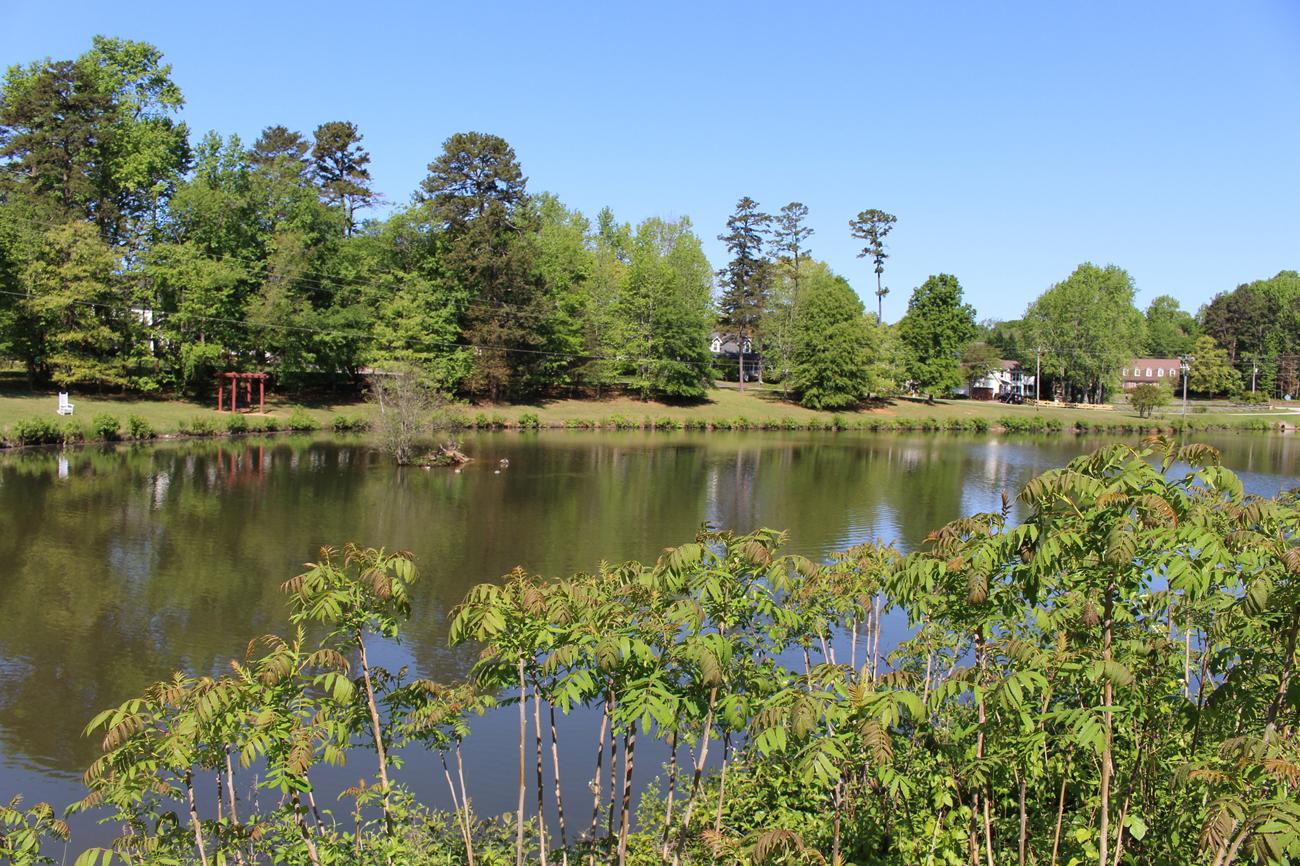 Middle of Oak Grove Lake