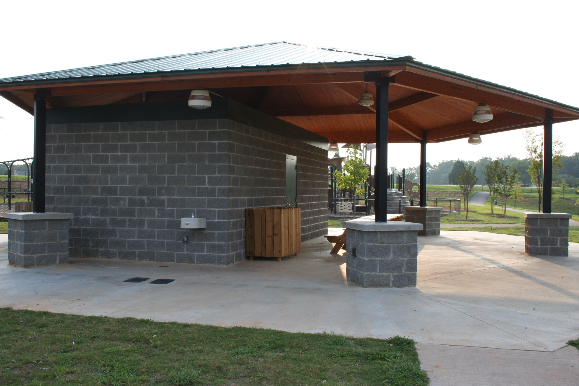 loretta c. wood park shelter