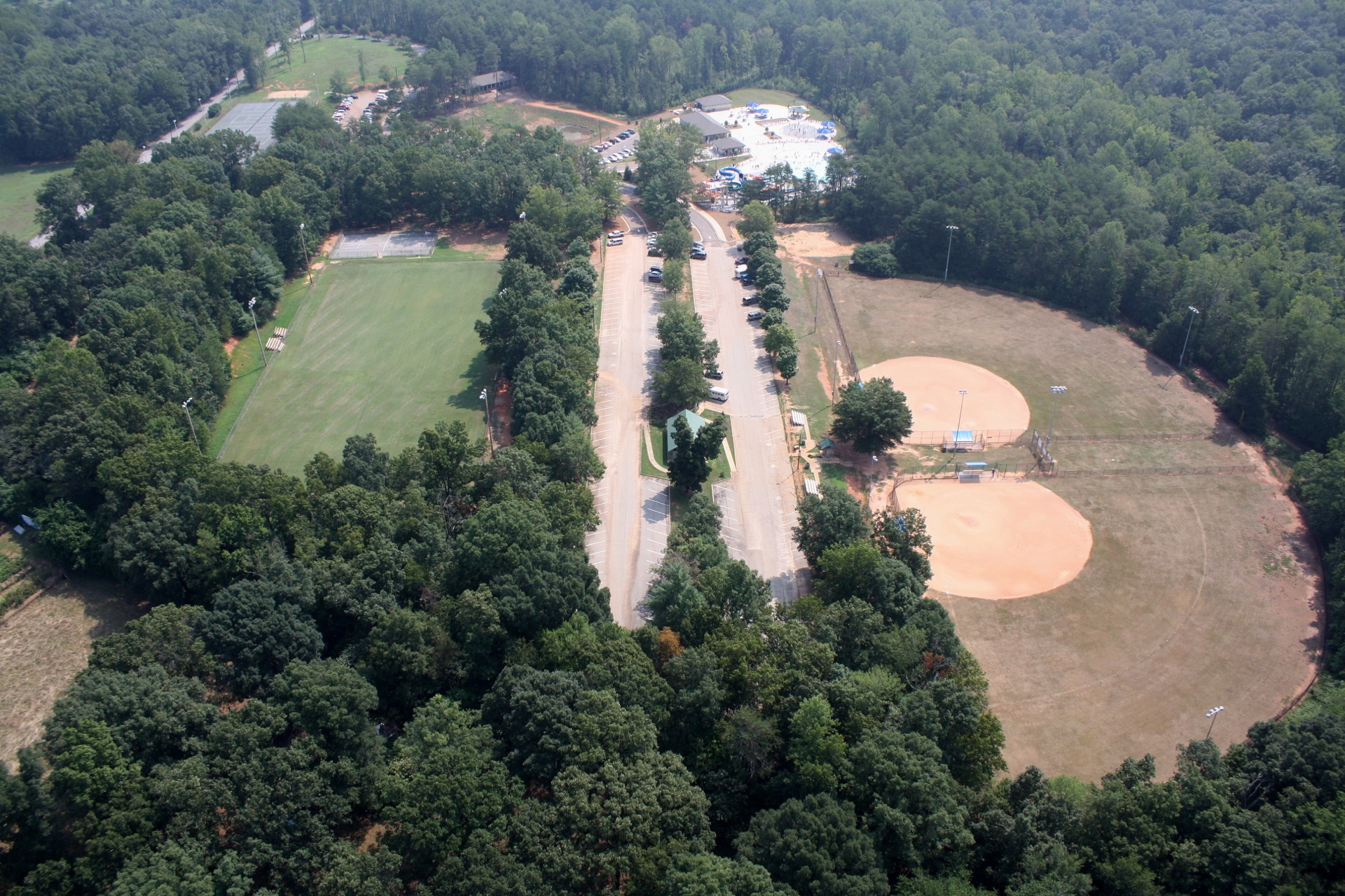 northside park aerial view