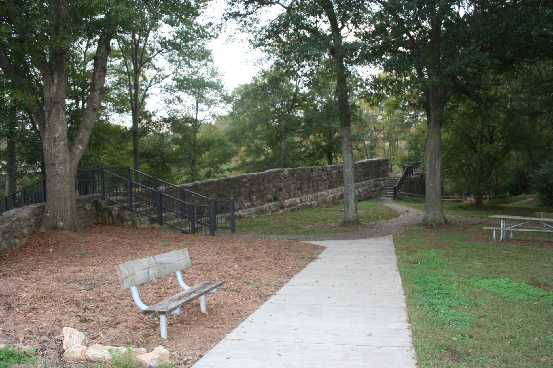 pelham mill park trail