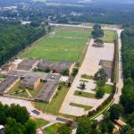 piedmont athletic complex aerial view