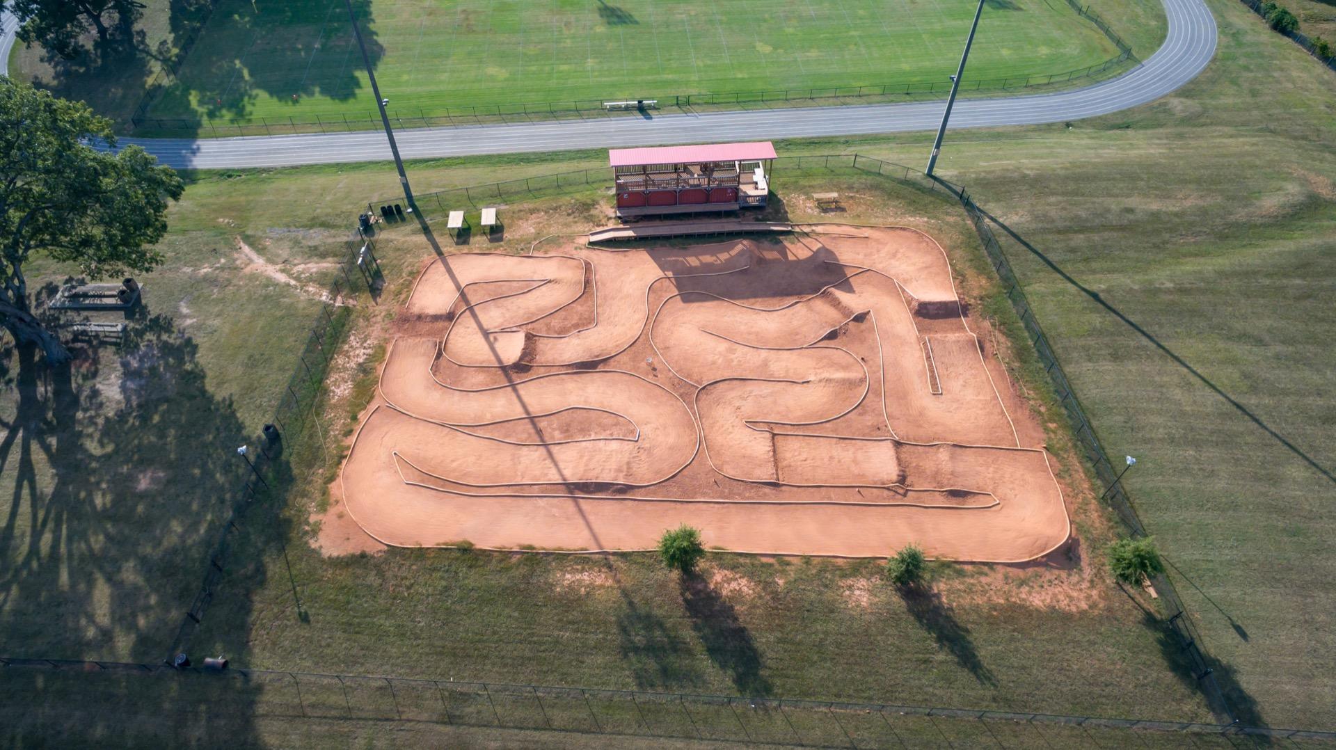 piedmont athletic complex aerial bmx park