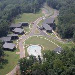 pleasant ridge park aerial view