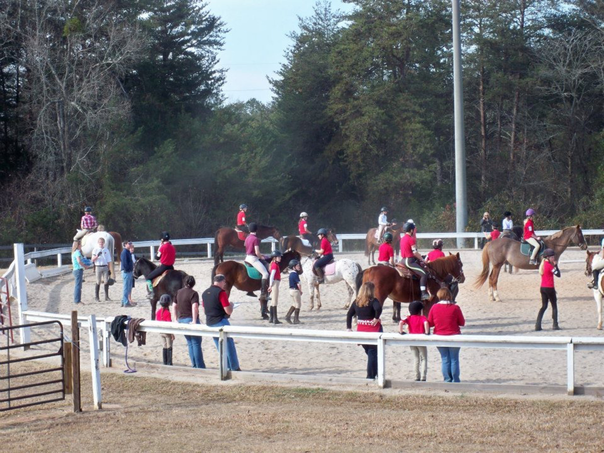 riverbend equestrian park greenville county parks recreation