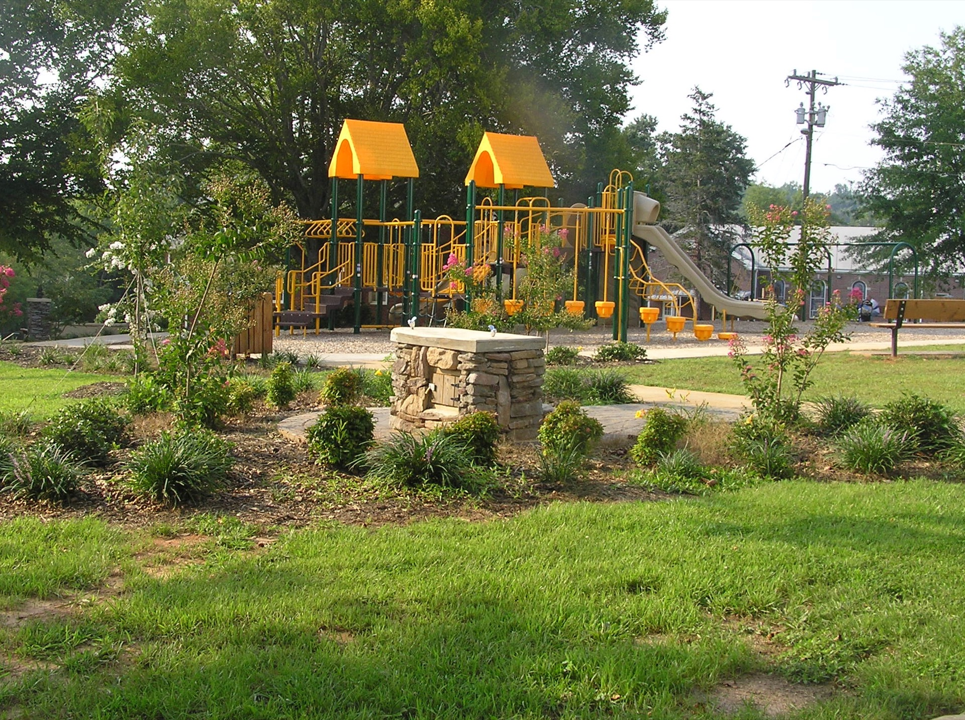 Slater Community Center Playground
