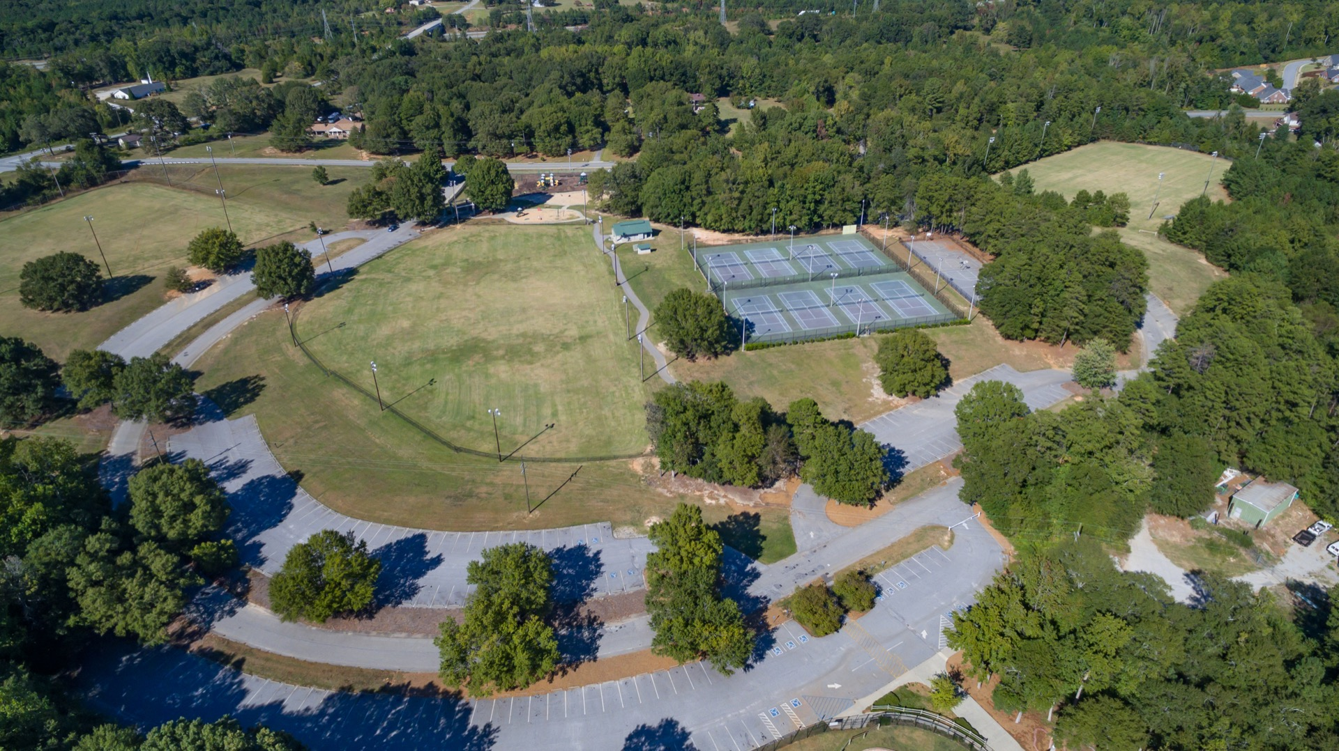 southside park aerial view