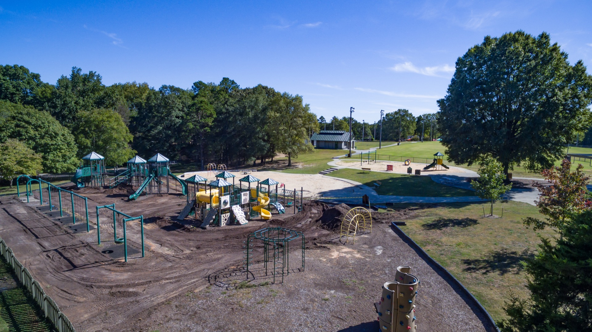 southside park aerial view