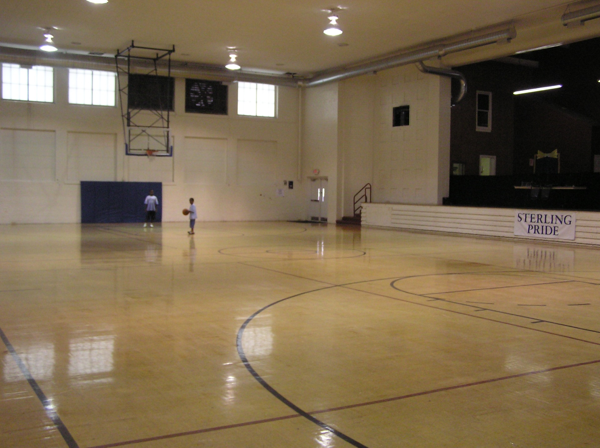 Sterling Community Center basketball court