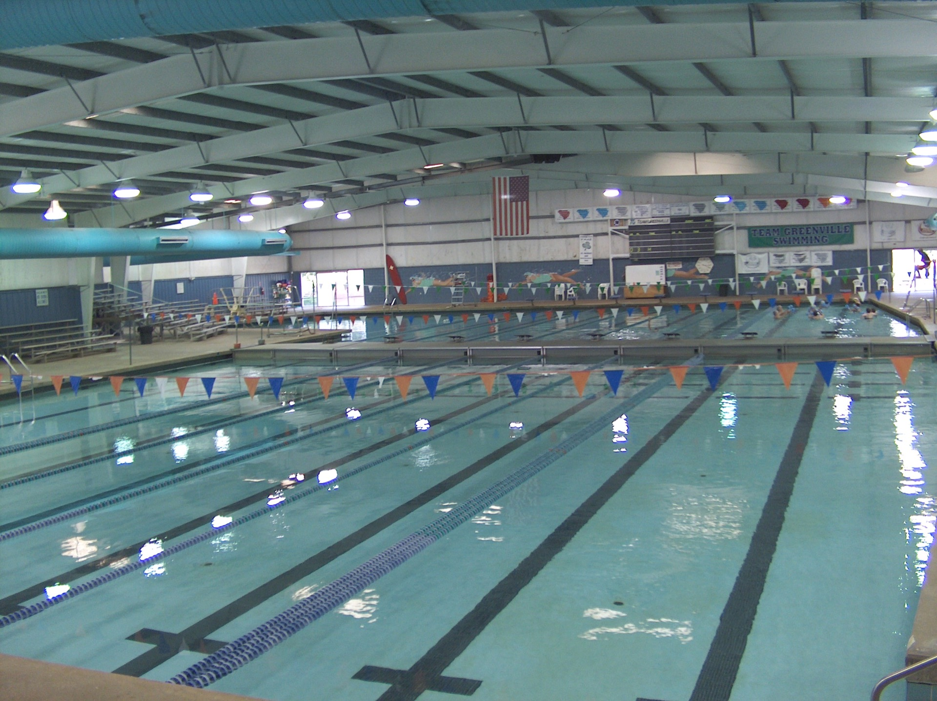 Greenville County Aquatics Center Pool