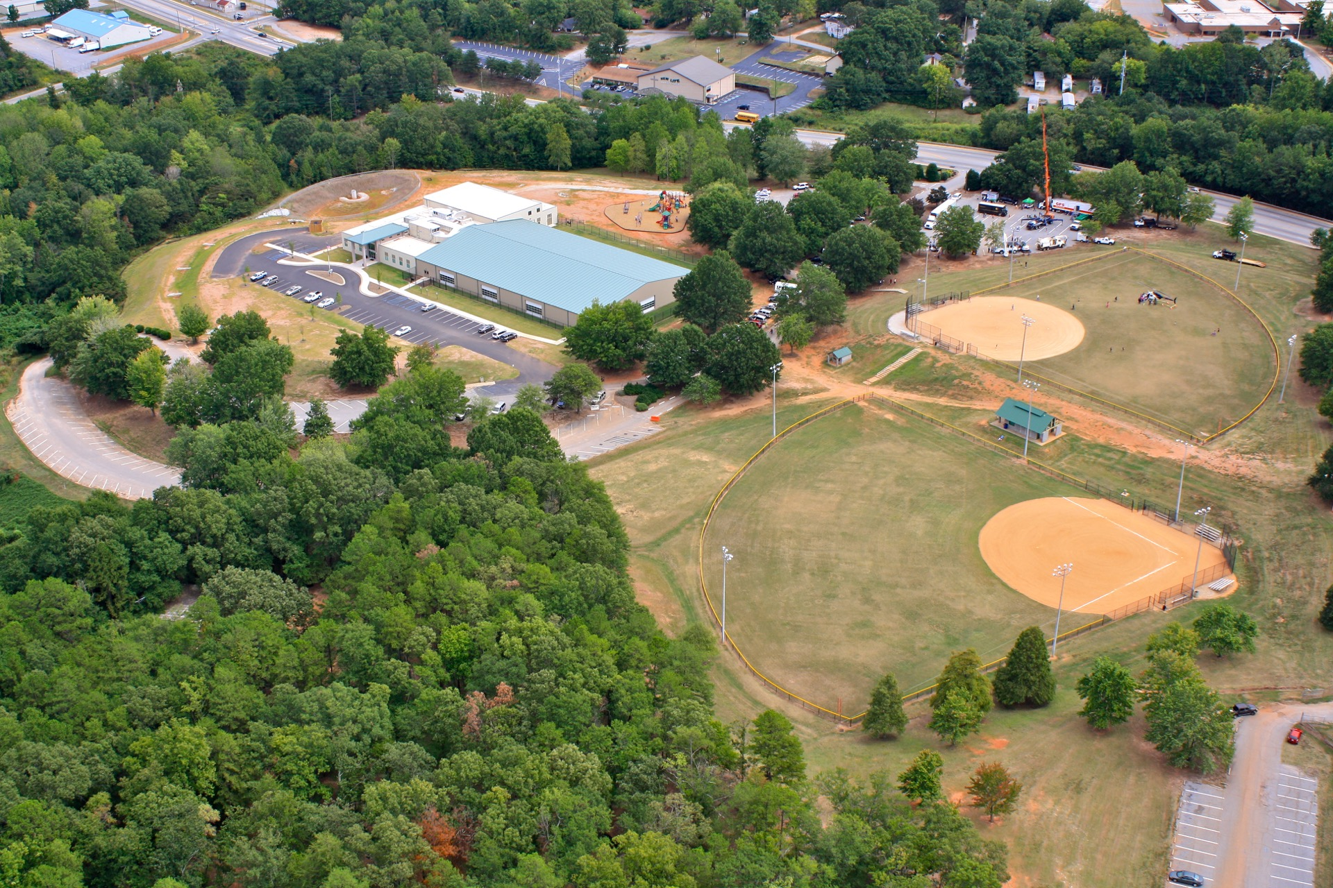 westside park aerial view