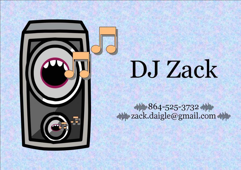 DJ Zack ad