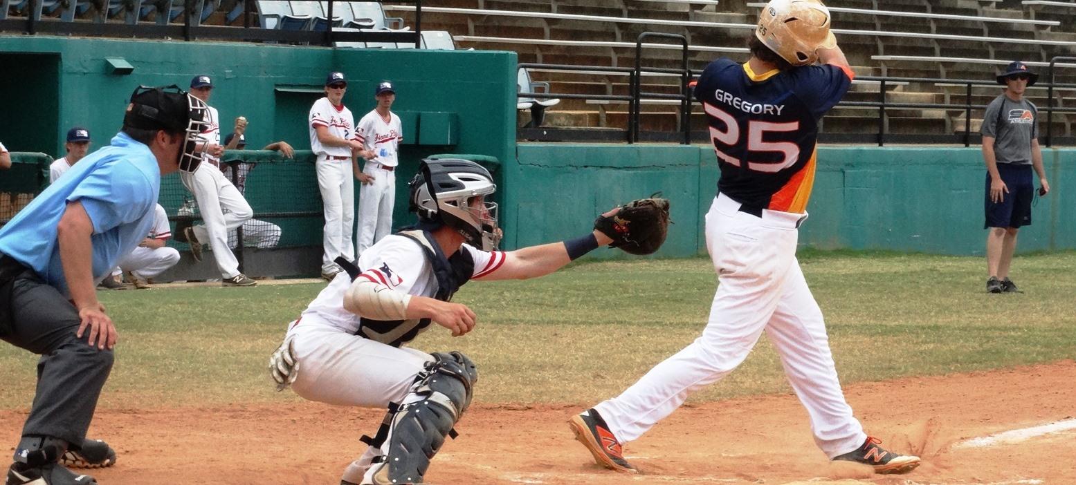 baseball batter hitting