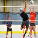 adult volleyball game