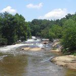 river at Cedar Falls Park