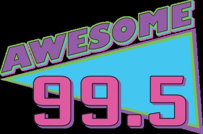 Awesome 99.5 Logo