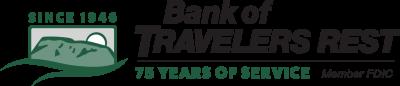 Bank of Travelers Rest Logo